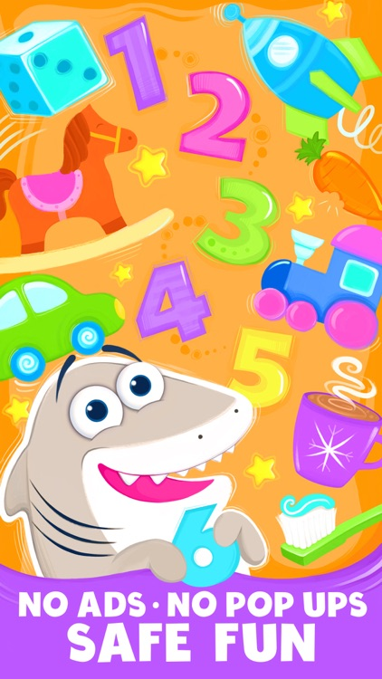 Animal Number Games for Toddlers Games for Free screenshot-4