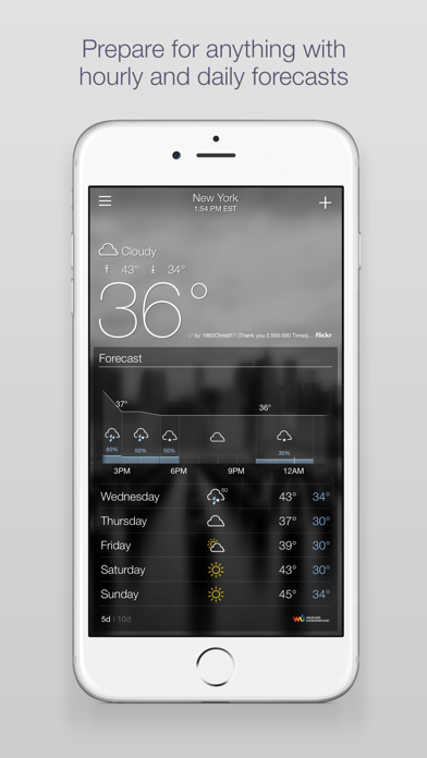 download Yahoo Weather apps 1