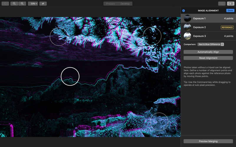 Hydra - HDR Photo Editor Screenshots