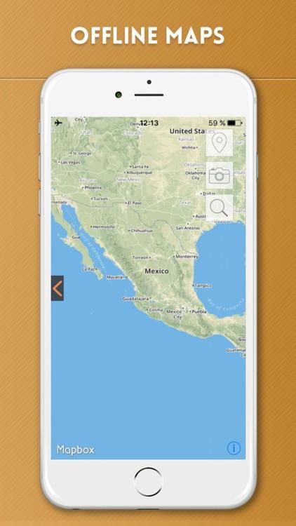 Mexico Offline Map & City Travel Guide screenshot-4