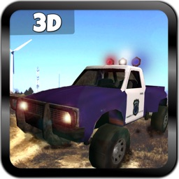 Offroad Police Jeep 3D