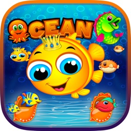 Ocean Fish Mania - Best Ocean Blast Match 3 Game