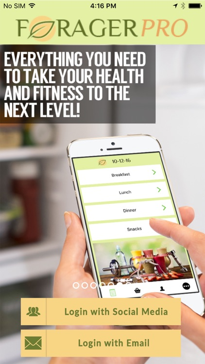 Forager - The Diet Meal Planner and Tracker!