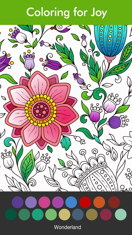 Coloring Book For Adults Game By App Labs