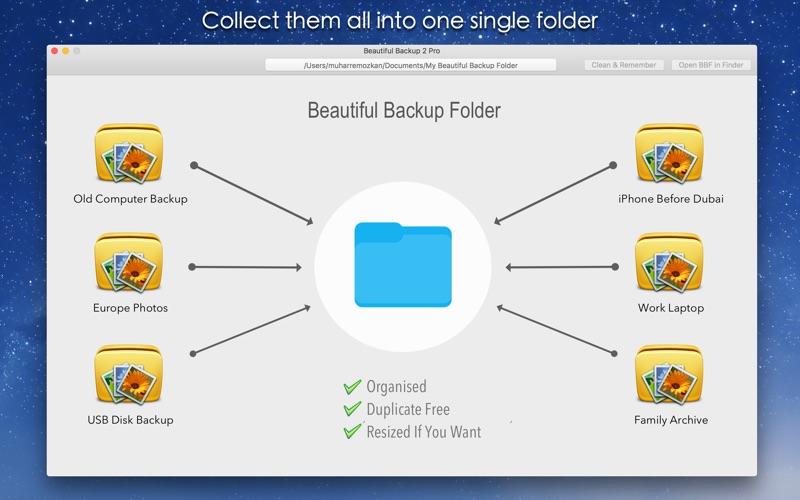 Beautiful Backup 2 Pro Screenshot
