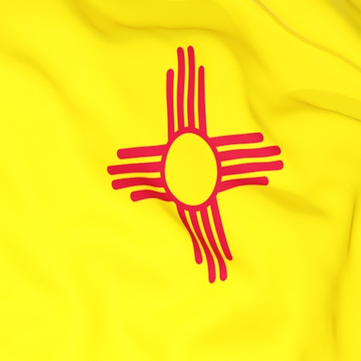New Mexico Flag Stickers