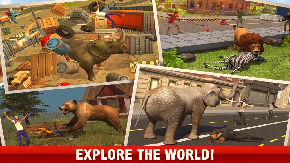 2016 Dinosaur simulator park Dino world fight-ing hack tool