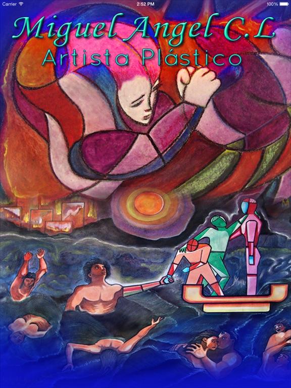 ARTISTA & OBRA :  Miguel Angel Castillo Lara-ipad-0