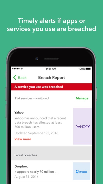 Lookout: Security and Identity Theft Protection app image