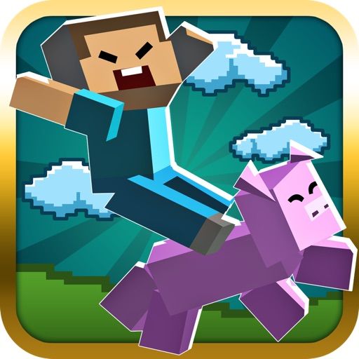Racing Micro Blocks - Cool New Pocket Game icon