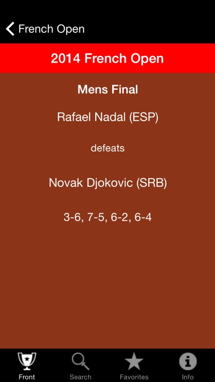 Tennis Champions App screenshot-2