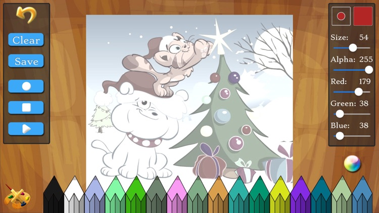 Christmas Games: Santa Claus Puzzle for Kids screenshot-4
