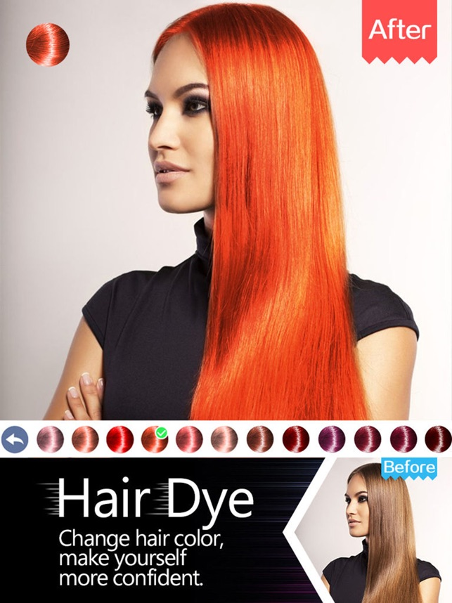 Hair dye wig color changersplash filters effects on the app store solutioingenieria Choice Image