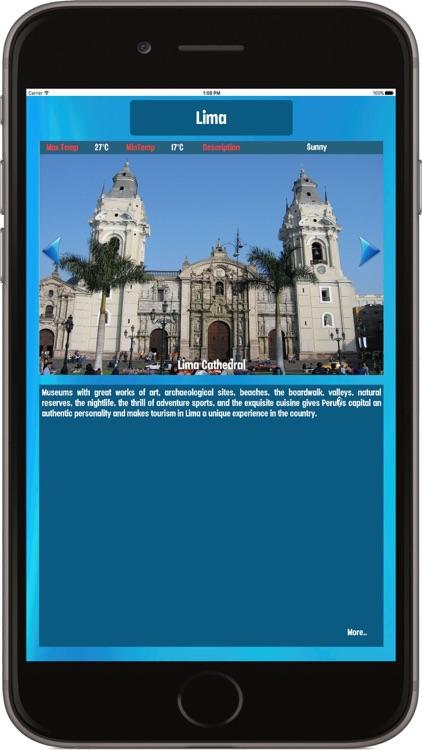 Lima Peru, Tourist Attractions around the City