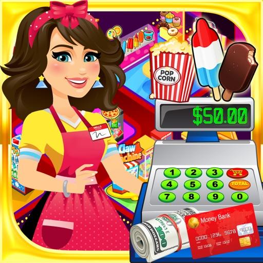Supermarket Movie Theater: Kids Cash Register FREE