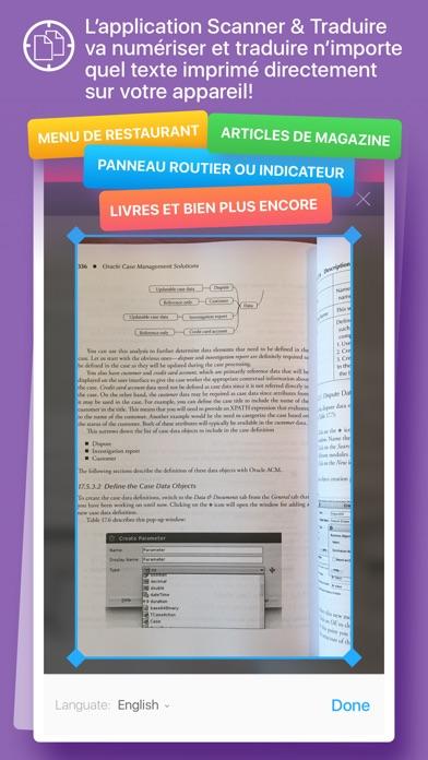 Screenshot #3 pour Scanner et Traducteur+ – traduction de la photo