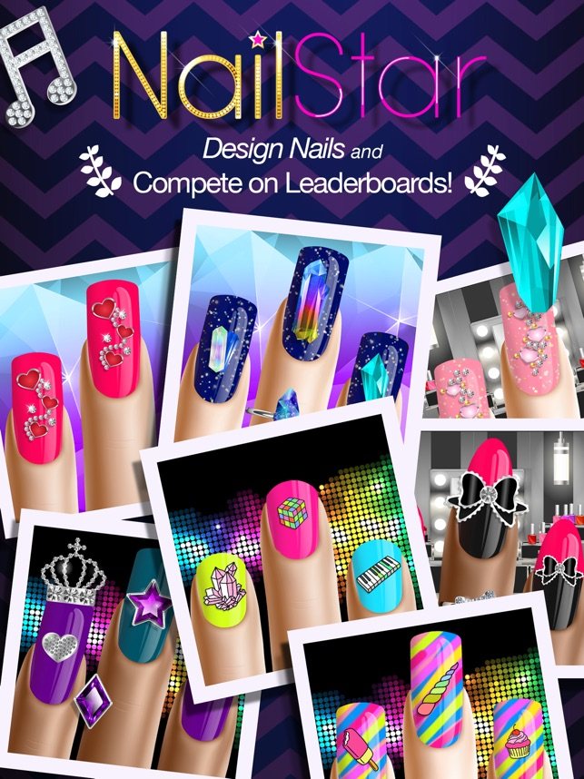 Nail Star - Nails Salon Manicure and Decorating Game for Girls on ...