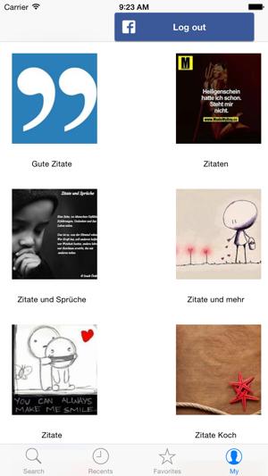 Sprüche Zitate Und Gedichte Im App Store