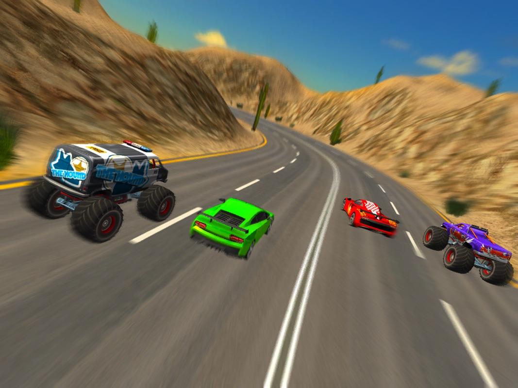 Crazy Car vs Monster Truck Racer 3D - Online Game Hack and ...