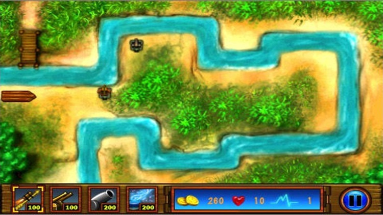 River Tower Defence - Free tower defense games