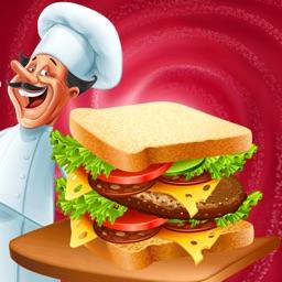 Food Court Sandwich Fever Super Chef Restaurant