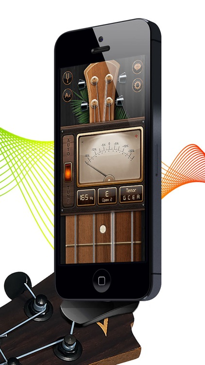 Chromatic Guitar Tuner - Ukulele, Guitar, Bass screenshot-3