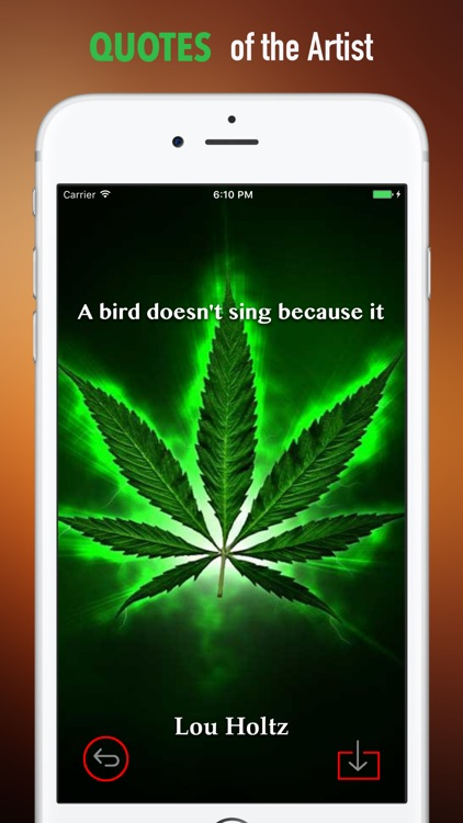 3D Weed Wallpapers HD: Quotes screenshot-3