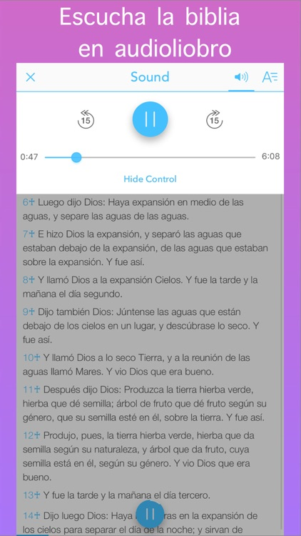 La Biblia Reina Valera en Español (Spanish Bible) screenshot-1