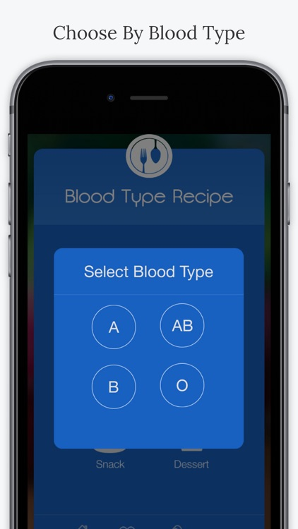Blood Type Recipes