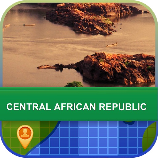 Central African Republic Map - World Offline Maps