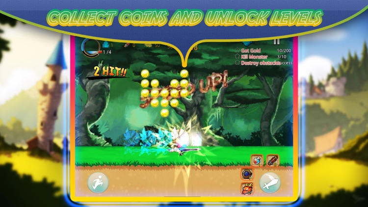 Super sword fighter heroes – to  face dragons of the bamboo forest - feet of fury screenshot-3