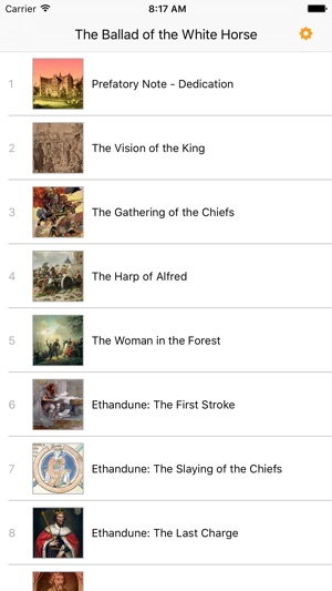 The Ballad Of The White Horse Audioebook On The App Store