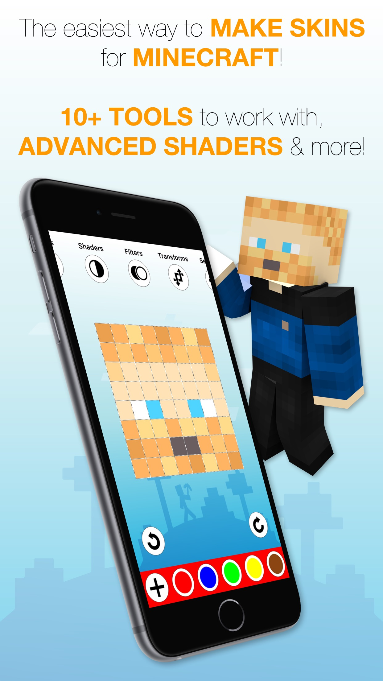 Best Skins Creator Pro - for Minecraft PE & PC Hack Online ...