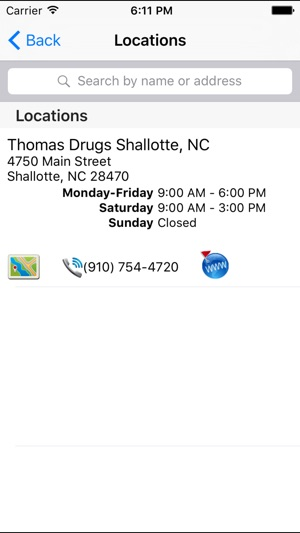 Thomas Drugs Shallotte On The App Store