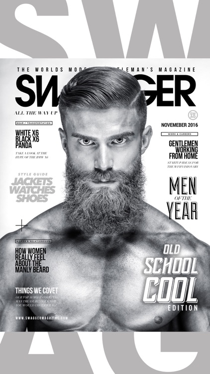 AAAA+ Swagger Magazine - The Lifestyle Magazine for Men