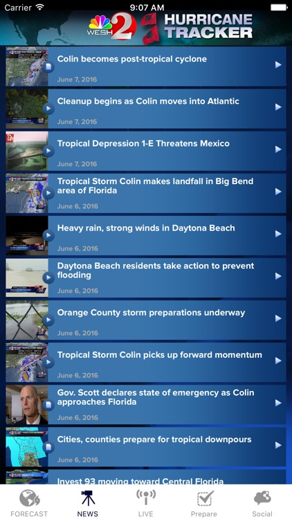 Hurricane Tracker WESH 2 screenshot-3