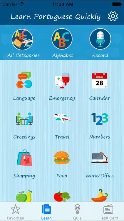 Learn Portuguese Quickly Pro