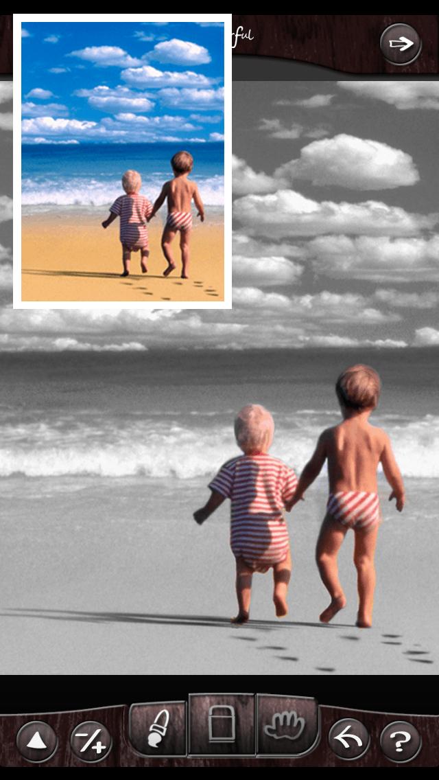 Colorful-白黒やモザイク、セピアで無料の画像編集できるカメラアプリ!のおすすめ画像2