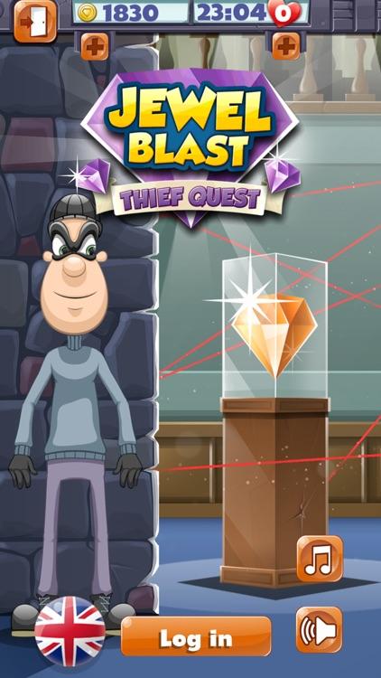 Jewel Blast Thief Quest Adventure – Match 3 Puzzle screenshot-4