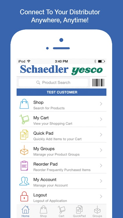 Schaedler Yesco OE Touch screenshot-0
