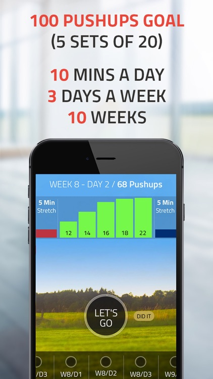 Push ups 0 to 100: push up challenge trainer pro