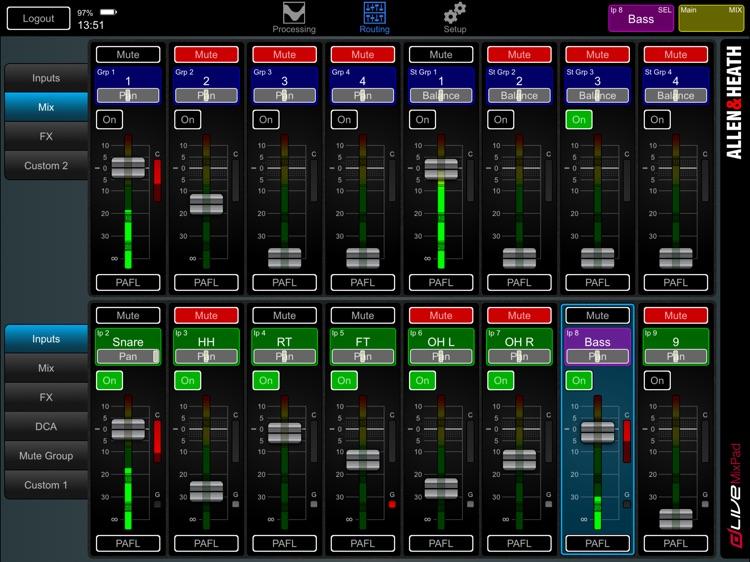 dLive MixPad screenshot-3