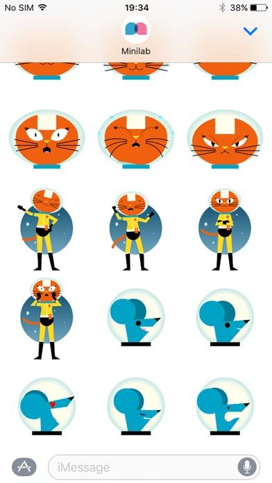 Astro Cat Stickersのスクリーンショット5