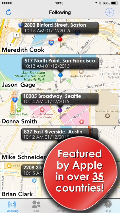 Phone Tracker for iPhones app image