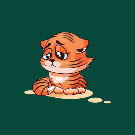 Tiger - Stickers for iMessage