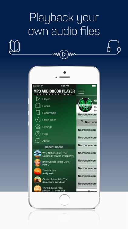 MP3 Audiobook Player - free listen any audiobooks