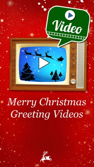 Merry christmas greeting videos holiday greetings on the app store screenshots m4hsunfo