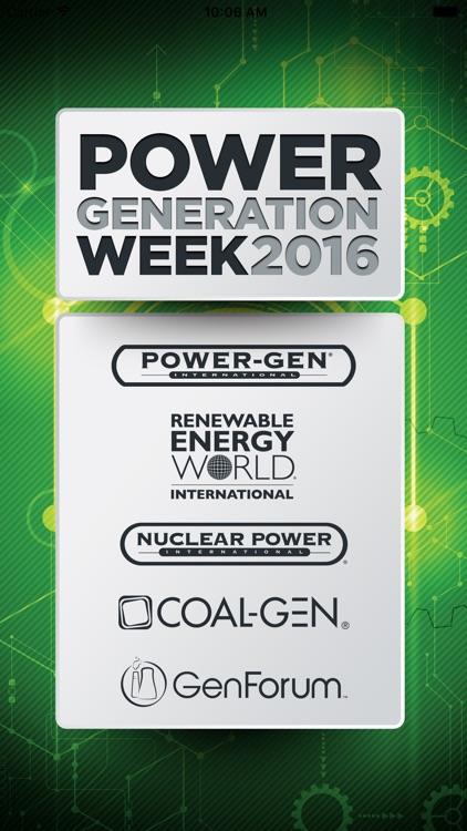 PowerGeneration Week
