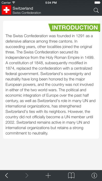 World Factbook Atlas review screenshots