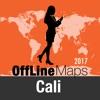 Santiago de Cali mapa offline y guía de viaje